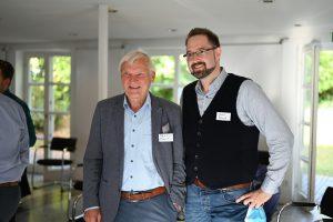 Franz Boszak und Prof. Ernst Messerschmid